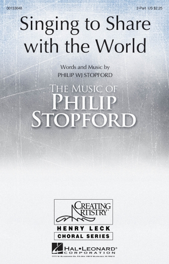 Product Cover for Singing to Share with the World