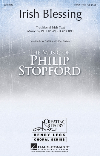 Irish Blessing : SSA : Philip Stopford : Philip Stopford : Sheet Music : 00153649 : 888680096786