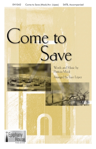Product Cover for Come To Save