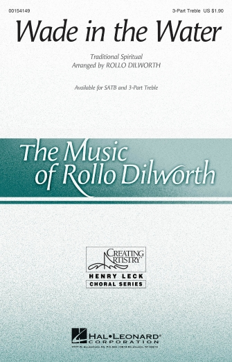 Wade in the Water : SSA : Rollo Dilworth : Sheet Music : 00154149 : 888680098612