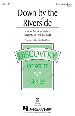 Down by the Riverside : 3-Part : Audrey Snyder : Sheet Music : 00154177 : 888680098681