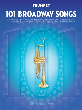 Product Cover for 101 Broadway Songs for Trumpet