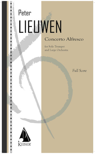 Product Cover for Concerto Alfresco for Trumpet and Large Orchestra - Full Score