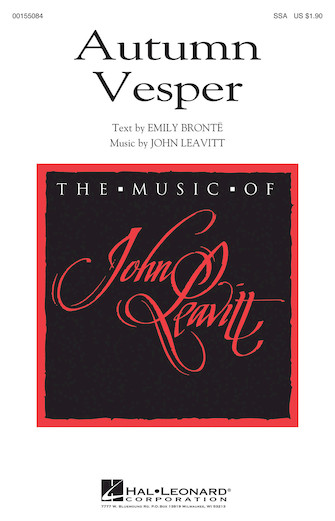 Autumn Vesper : SSA : John Leavitt : John Leavitt : Sheet Music : 00155084 : 888680104184