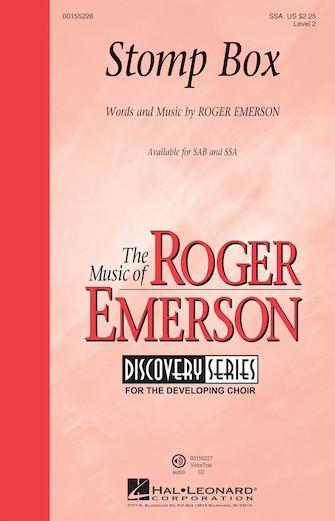 Stomp Box : SSA : Roger Emerson : Roger Emerson : Sheet Music : 00155226 : 888680104924