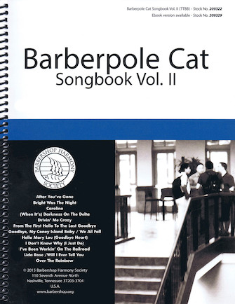 Product Cover for Barberpole Cat Songbook