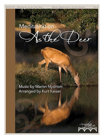 "Product Cover for Meditation on ""As the Deer"""