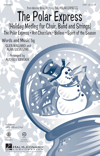 The Polar Express : SAB : Paul Murtha : The Polar Express : Sheet Music : 00155811 : 888680602116