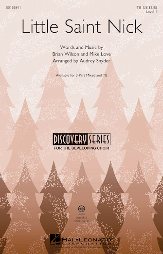 Little Saint Nick : TB : Audrey Snyder : The Beach Boys : Sheet Music : 00155841 : 888680602406