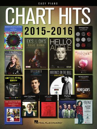 Product Cover for Chart Hits of 2015-2016