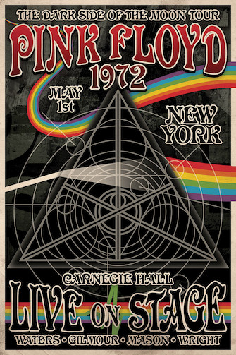 Product Cover for Pink Floyd Dark Side Tour – Wall Poster