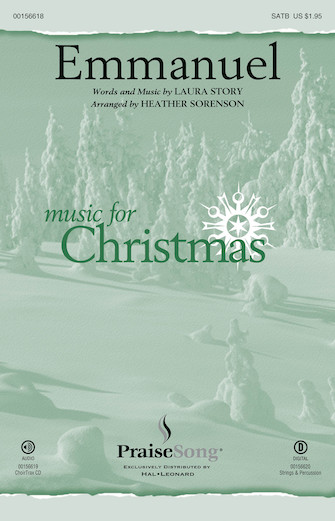 Emmanuel : SATB : Heather Sorenson : Laura Story : Sheet Music : 00156618 : 888680607234