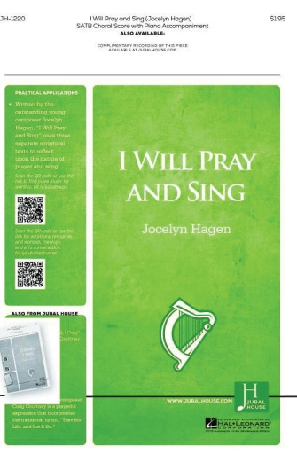 Product Cover for I Will Pray and Sing