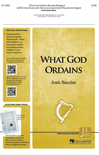 Product Cover for What God Ordains