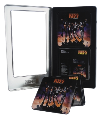 Product Cover for Kiss: Destroyer – 6-Piece Tin Coaster Set
