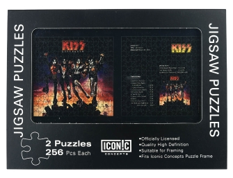 Product Cover for Kiss: Destroyer – Dual Pack Puzzle