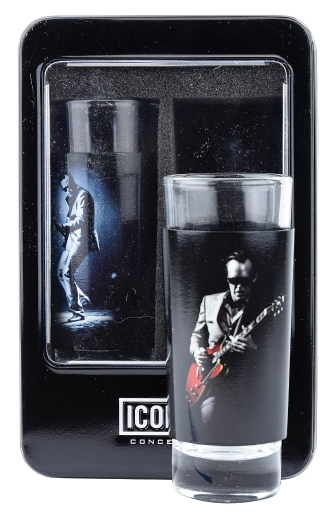 Product Cover for Joe Bonamassa 2-Piece Shot Glass Set – Lithos Collection 1