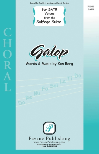 Galop : SATB : Ken Berg : Ken Berg : Sheet Music : 00159344 : 888680617479