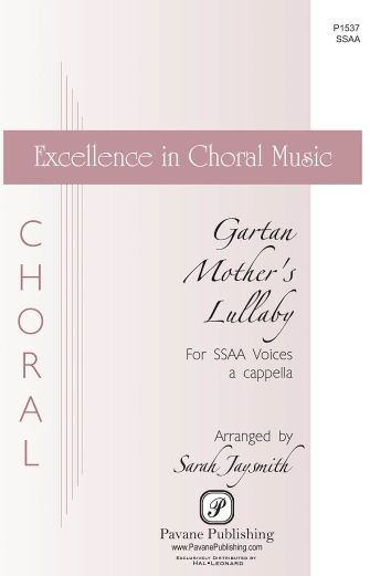 Gartan Mother's Lullaby : SSAA : Sarah Jaysmith : Sheet Music : 00159345 : 888680617486