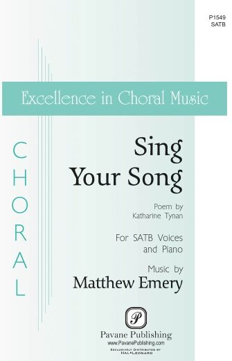 Product Cover for Sing Your Song