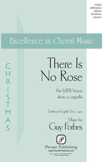 There Is No Rose : SATB : Guy Forbes : Guy Forbes : Sheet Music : 00159362 : 888680617660
