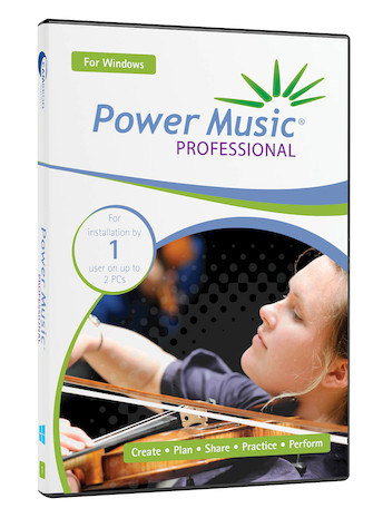 Product Cover for Power Music Professional