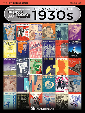 Product Cover for Songs of the 1930s – The New Decade Series
