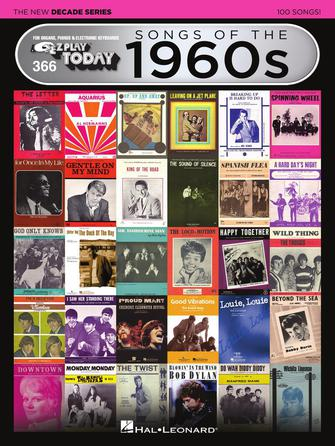 Product Cover for Songs of the 1960s – The New Decade Series