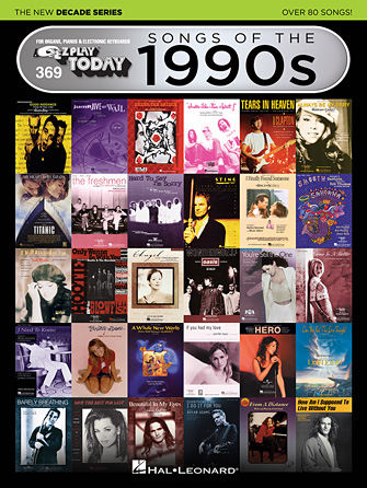 Product Cover for Songs of the 1990s – The New Decade Series