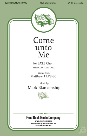 Product Cover for Come Unto Me