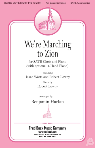 Product Cover for We're Marching to Zion