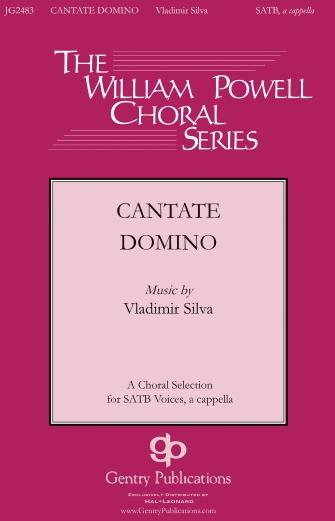 Cantate Domino : SATB : Vladimir Silva : Vladimir Silva : Sheet Music : 00159822 : 888680619992