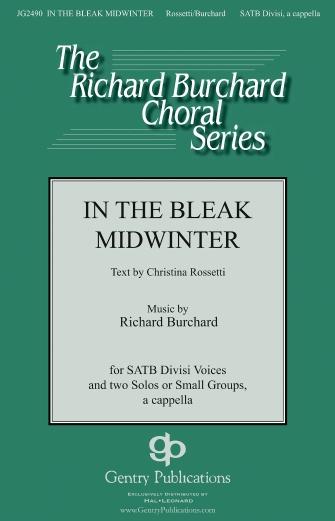 In the Bleak Midwinter : SATB divisi : Gustav Holst : Gustav Holst : Sheet Music : 00159829 : 888680620042