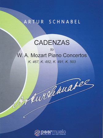 Product Cover for Cadenzas to Mozart Piano Concertos, K. 467, K. 482, K. 491, K. 503
