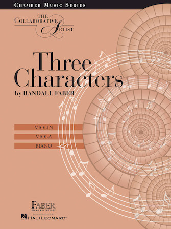 Product Cover for Three Characters – The Collaborative Artist