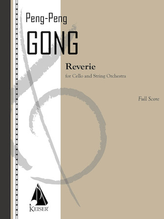 Product Cover for Reverie for Cello and String Orchestra - Score
