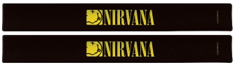 Product Cover for Nirvana Slap Band 2-Pack – Smiley Logo