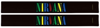 Product Cover for Nirvana Slap Band 2-Pack – Multi Color Logo