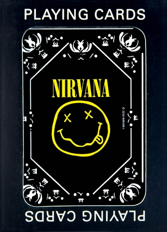 Product Cover for Nirvana Playing Cards – Smiley Logo