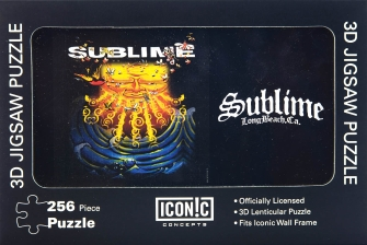 Product Cover for Sublime Everything Under the Sun 3D Lenticular Puzzle