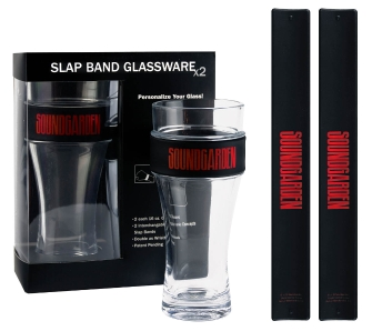 Product Cover for Soundgarden 2-Pack Slap Band Pint Size Glassware