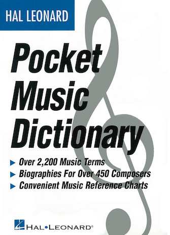Product Cover for The Hal Leonard Pocket Music Dictionary
