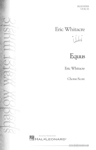 Product Cover for Equus – Opt. Choral Part for Band Work