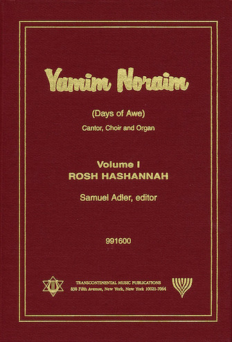 Product Cover for Yamim Noraim (Days of Awe)