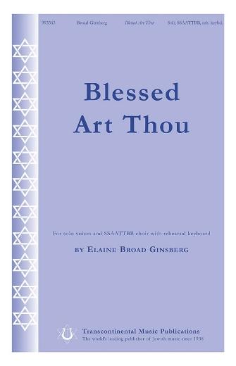 Blessed Art Thou : SSAATTBB : 0 : Sheet Music : 00191601 : 884088268169