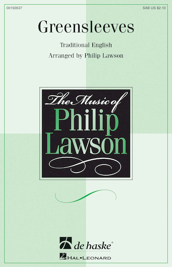Greensleeves : SAB : Philip Lawson : DVD : 00192637 : 888680637422