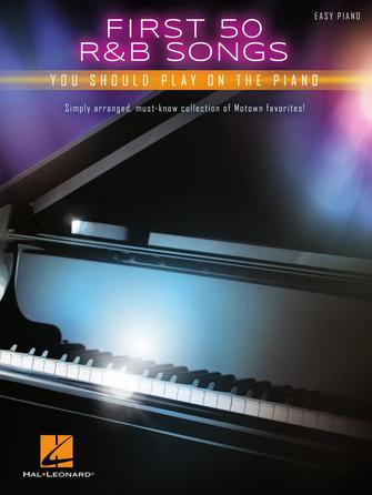 Product Cover for First 50 R&B Songs You Should Play on Piano