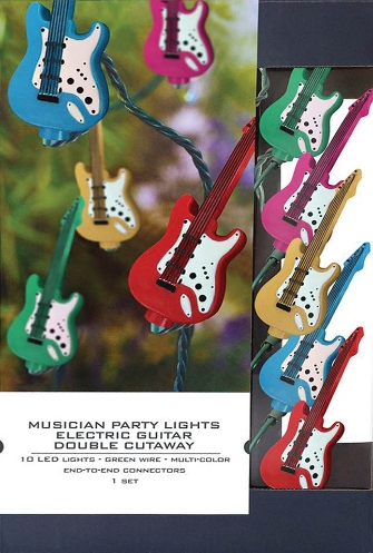 Product Cover for Musician Party Lights – Electric Guitar Double-Cutaway Edition