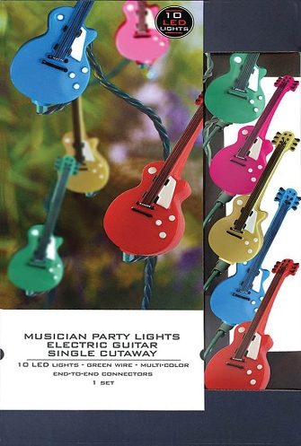 Product Cover for Musician Party Lights – Electric Guitar Single-Cutaway Edition