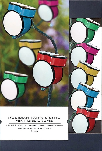 Product Cover for Musician Party Lights – Drum Edition